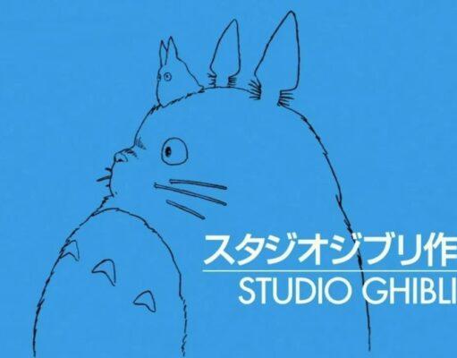 """Logo dello studio ghibli con """"Totoro"""" come capostipite"""