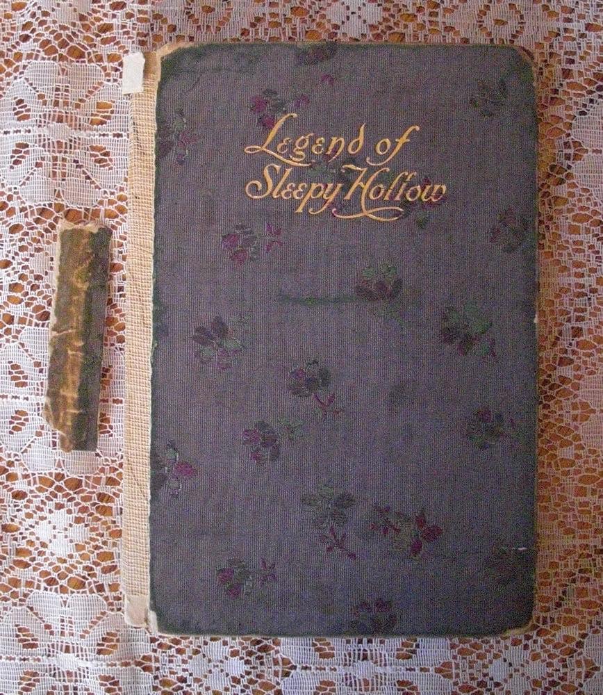 Copertina del libro del racconto di Washington Irving in cui compare il cavaliere senza testa.