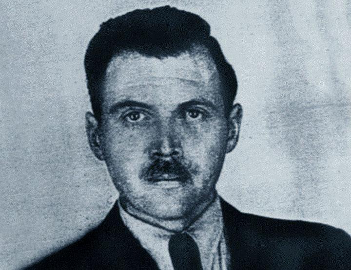 Foto del passaporto di Mengele
