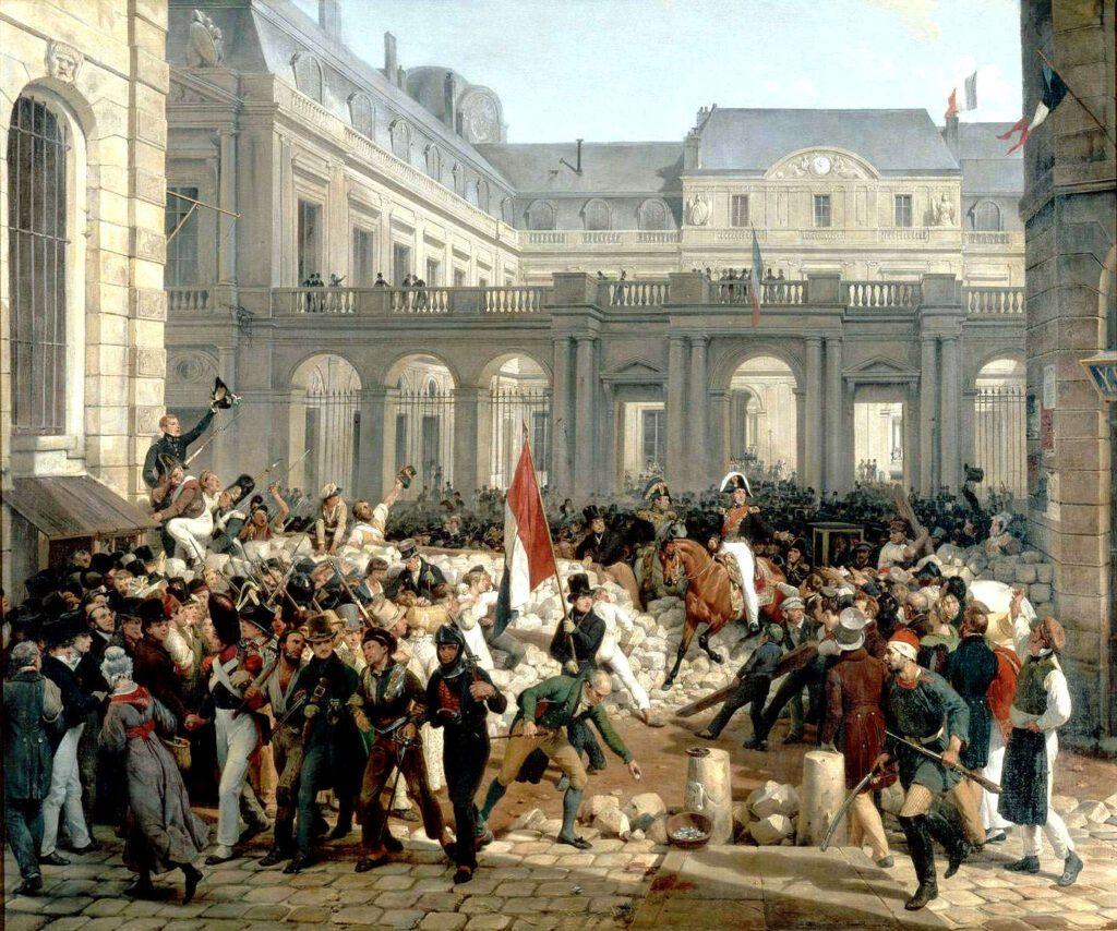 moti del 1830
