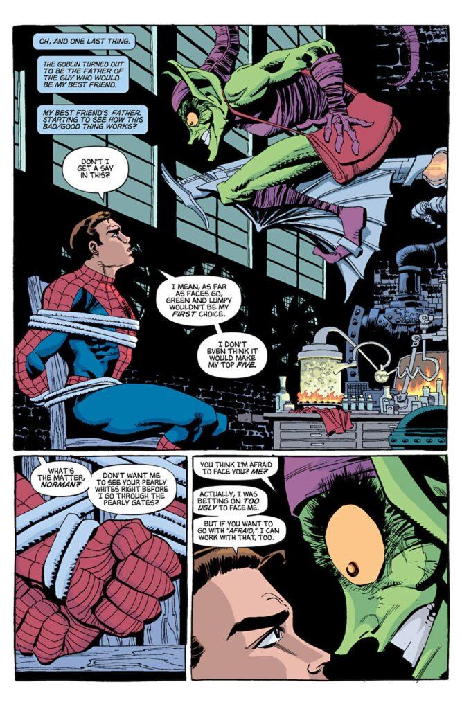 Spider-Man Blu citazione