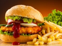 Fast food menù