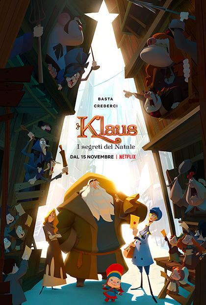 Klaus - I segreti del Natale locandina