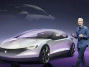 Apple starebbe lavorando sulla sua prima auto elettrica a guida autonoma