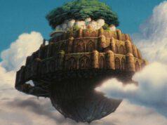 Laputa Castello nel cielo misteriosa città volante