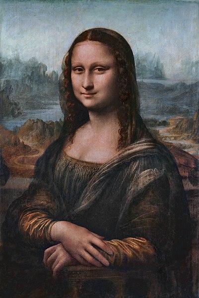 Gioconda presso il Museo del Louvre