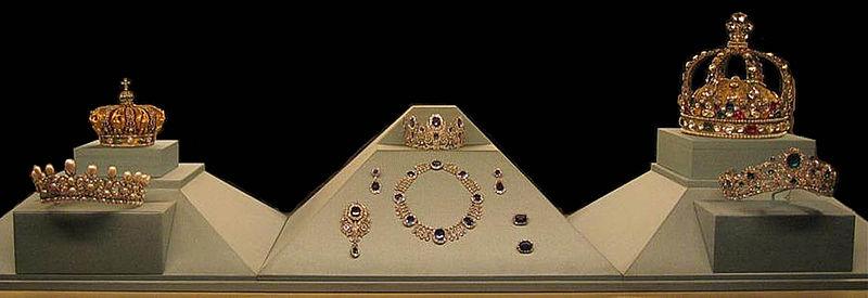 gioielli della corona al Museo del Louvre