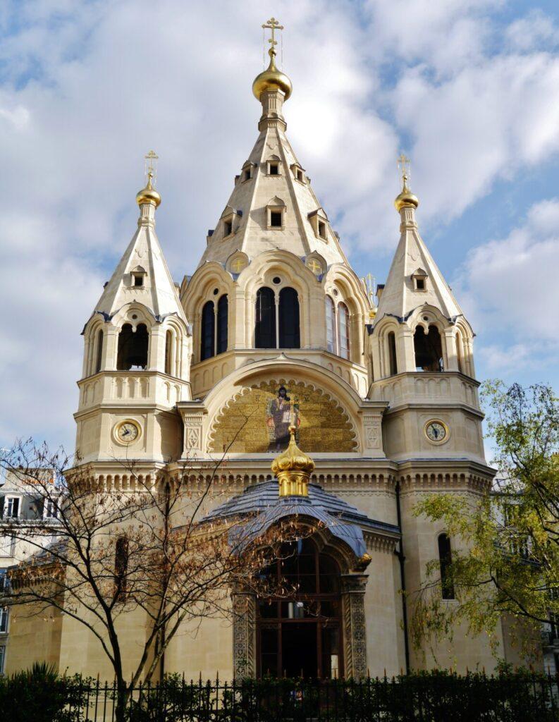 Chiese di Parigi Saint-Alexandre-Nevsky