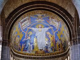 mosaico basilica del Sacro Cuore di Parigi